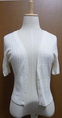 △ 夏の羽織り 微妙な丈感が使いにくかったし、夏でも羽織は長袖が良い