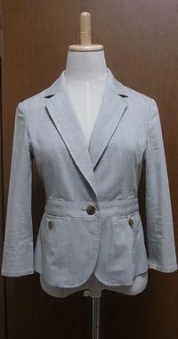 ◯ 麻混のジャケット 使い易かった